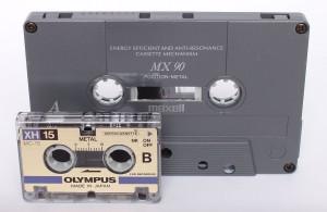 Numérisation audio micro-cassette